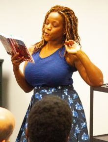 Me Reading at HPL 4
